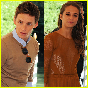 Eddie Redmayne & Alicia Vikander Continue Promoting 'Danish Girl' Amid Rave Reviews!