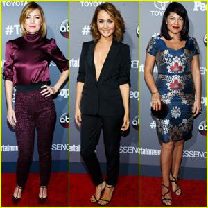 Ellen Pompeo & 'Grey's Anatomy' Cast Celebrate TGIT