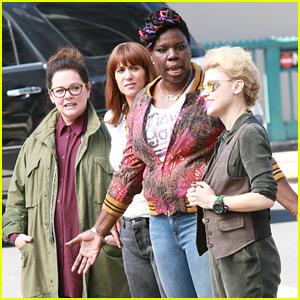 'Ghostbusters' Cast Films with Original Star Ernie Hudson