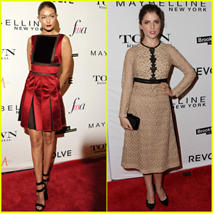 Gigi Hadid & Anna Kendrick Present At Daily Front Row's Fashion Media Awards