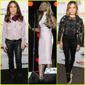 Salma Hayek & Sophia Bush Get Passionate About Global Change