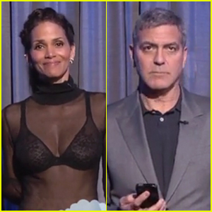 Halle Berry & George Clooney Read Jimmy Kimmel's Latest Mean Tweets