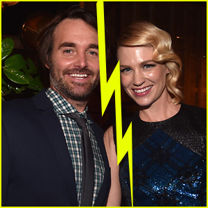 Stupendous January Jones Will Forte Split After 5 Months Of Dating Hairstyle Inspiration Daily Dogsangcom