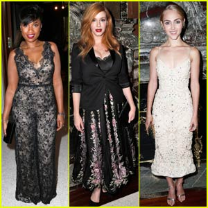 Jennifer Hudson & Christina Hendricks Make it to Marchesa