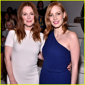 Jessica Chastain & Julianne Moore Are Elegant as Ever for Ralph Lauren NYFW Show!