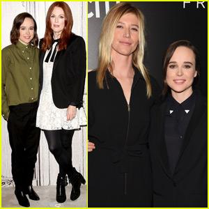 Ellen Page Takes Girlfriend Samantha Thomas To 'Freeheld' Premiere