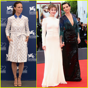 Juliette Binoche & Berenice Bejo Shine at the Venice Film Festival