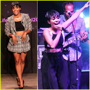 Kat Graham Celebrates Her New Album at Life Is Beautiful Festival