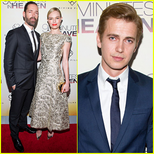 Kate Bosworth & Hayden Christensen Premiere '90 Minutes in Heaven' in Atlanta!