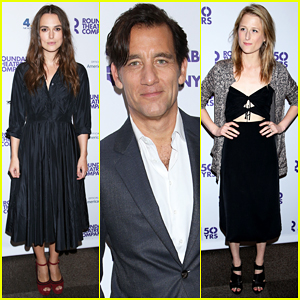 Keira Knightley & Clive Owen Celebrate Roundabout's 50th Anniversary!