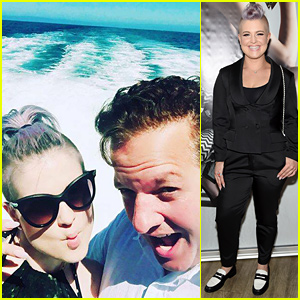 Kelly Osbourne Hits Up NYFW After Weekend with Jeff Beacher
