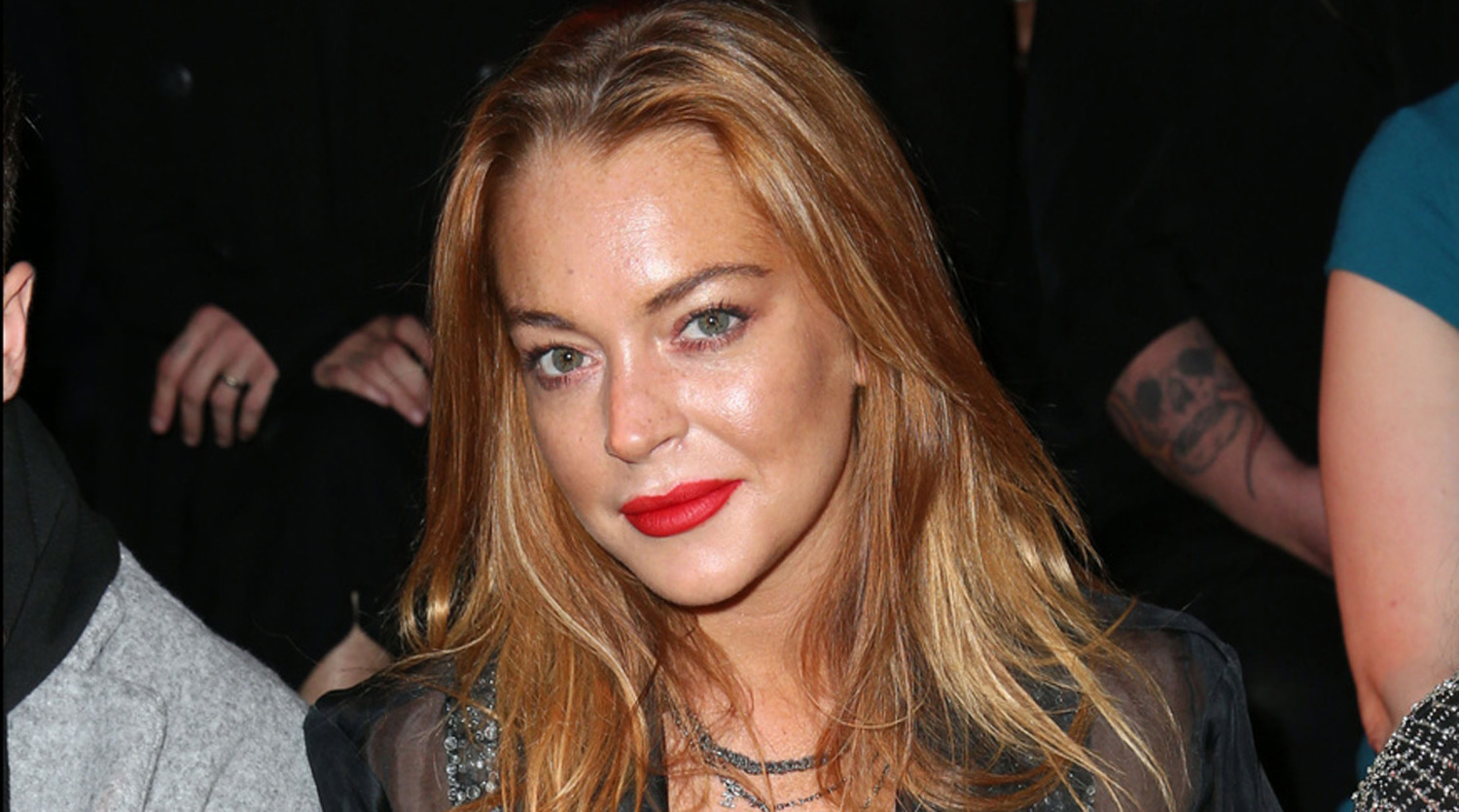 Lindsay Lohan Gets Trapped In An Elevator During London Fashion Week ...