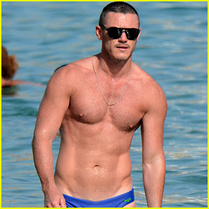 Luke Evans' Speedo Once Left Nothing to the Imagination!