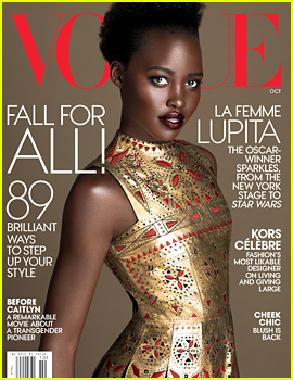 Lupita Nyong'o Covers 'Vogue' For a 2nd Time!