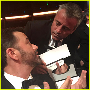 Matt LeBlanc Reacts to Jimmy Kimmel's Emmys 2015 Quip