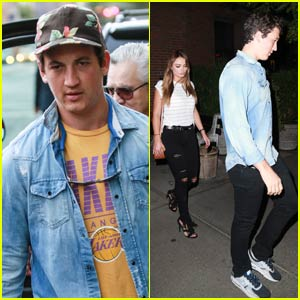Miles Teller Wants to Appear on 'Running Wild with Bear Grylls'
