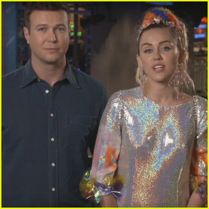 Miley Cyrus Jokes About Being Naked in New 'Saturday Night Live' Promos - Watch Now!