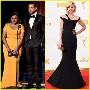 Mindy Kaling & Julie Bowen Take the Emmys 2015 By Storm!