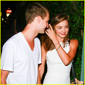 Miranda Kerr & Snapchat's Evan Spiegel Look So Happy Together on Their Date Night!