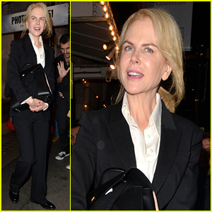 Nicole Kidman Is 'In the Midst of Writing Screenplays'