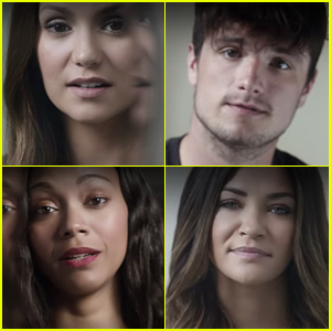 Nina Dobrev Josh Hutcherson Zoe Saldana And More Stars Are Participating In This PSA For The Its On Us Campaign To Raise Awareness About Sexual Assault
