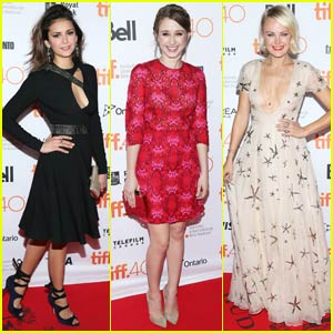 Nina Dobrev Brings 'Final Girls' to TIFF With Taissa Farmiga
