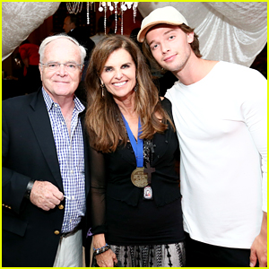 Patrick Schwarzenegger & Mom Maria Shriver Take The Best Buddies Challenge