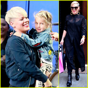 Pink Brings Daughter Willow On Stage at 'Ellen Show'!