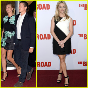 Reese Witherspoon & Heidi Klum Attend the Opening of the Broad Museum