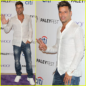 Ricky Martin Gets Ready For the Season Premiere of 'La Banda'