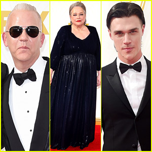 Ryan Murphy & 'American Horror Story' Cast Hit the Emmys 2015!