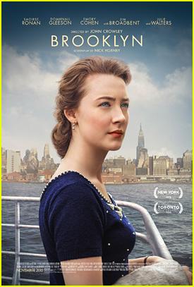 Saoirse Ronan Has To Choose Between Ireland & New York On 'Brooklyn' Poster
