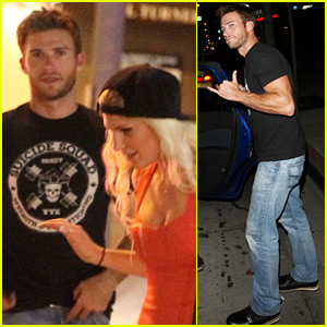 Scott Eastwood & Model Charlotte McKinney Spotted Hanging Out!