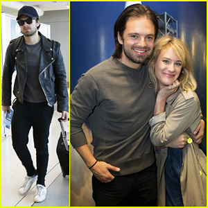 Sebastian Stan Gets NASA Expierence At 'Martian' Screening with Mackenzie Davis