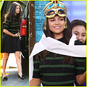 Selena Gomez Lets Fans Wrap Her Up Like A Monster In Miami