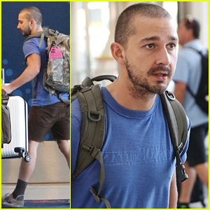 Shia LaBeouf Thinks Our World Is In A Tough Spot