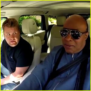 Stevie Wonder Brings James Corden to Tears in 'Carpool Karaoke' - Watch Now!