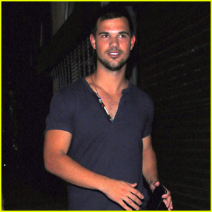 Taylor Lautner is Enjoying His Time Off With Family ...