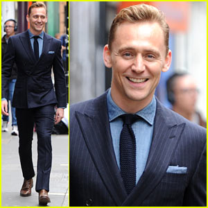 Tom Hiddleston Wears a Suit Better Than Anyone Else