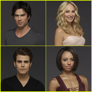 Ian Somerhalder & 'The Vampire Diaries' Cast Give Their