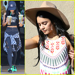 Vanessa Hudgens Says Driving In LA Traffic Is Her 'Meditation'
