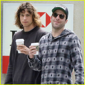 Zachary Quinto & Boyfriend Miles McMillan Spend Labor Day Weekend Up North!