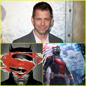 Batman v Superman's Zack Snyder Takes a Shot at the Marvel Universe