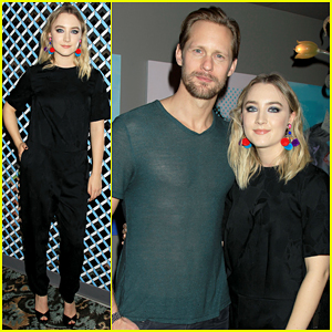 Alexander Skarsgard Supports Saoirse Ronan At 'Brooklyn' Screening!