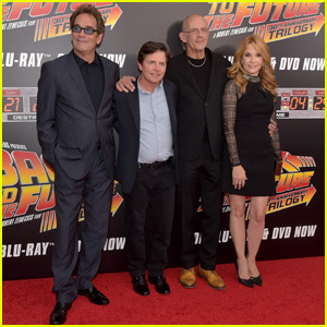 Michael J. Fox & 'Back to the Future' Cast Reunite for Special Anniversary Screening in NYC!