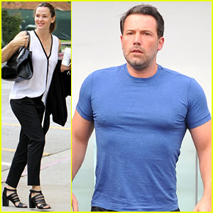 Ben Affleck's Muscles Are Pumped Up During Grocery Run with Jennifer Garner
