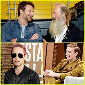 Bradley Cooper & Jared Leto Step Out For Vanity Fair's New Establishment Summit!