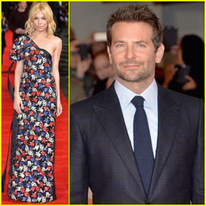 Bradley Cooper & Sienna Miller Premiere 'Burnt' in London
