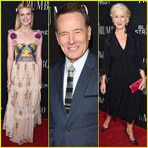 Bryan Cranston & Elle Fanning Bring 'Trumbo' To Beverly Hills!