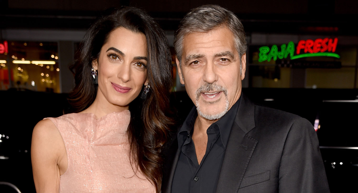 George Clooney Gets Wife Amal S Support At Crisis